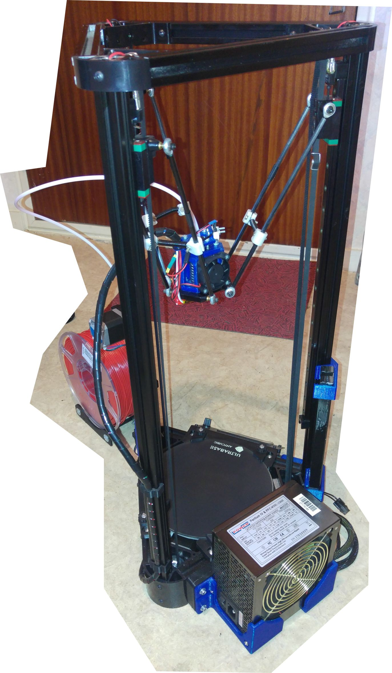 Imprimante 3D DELTA Kossel_Delta_01