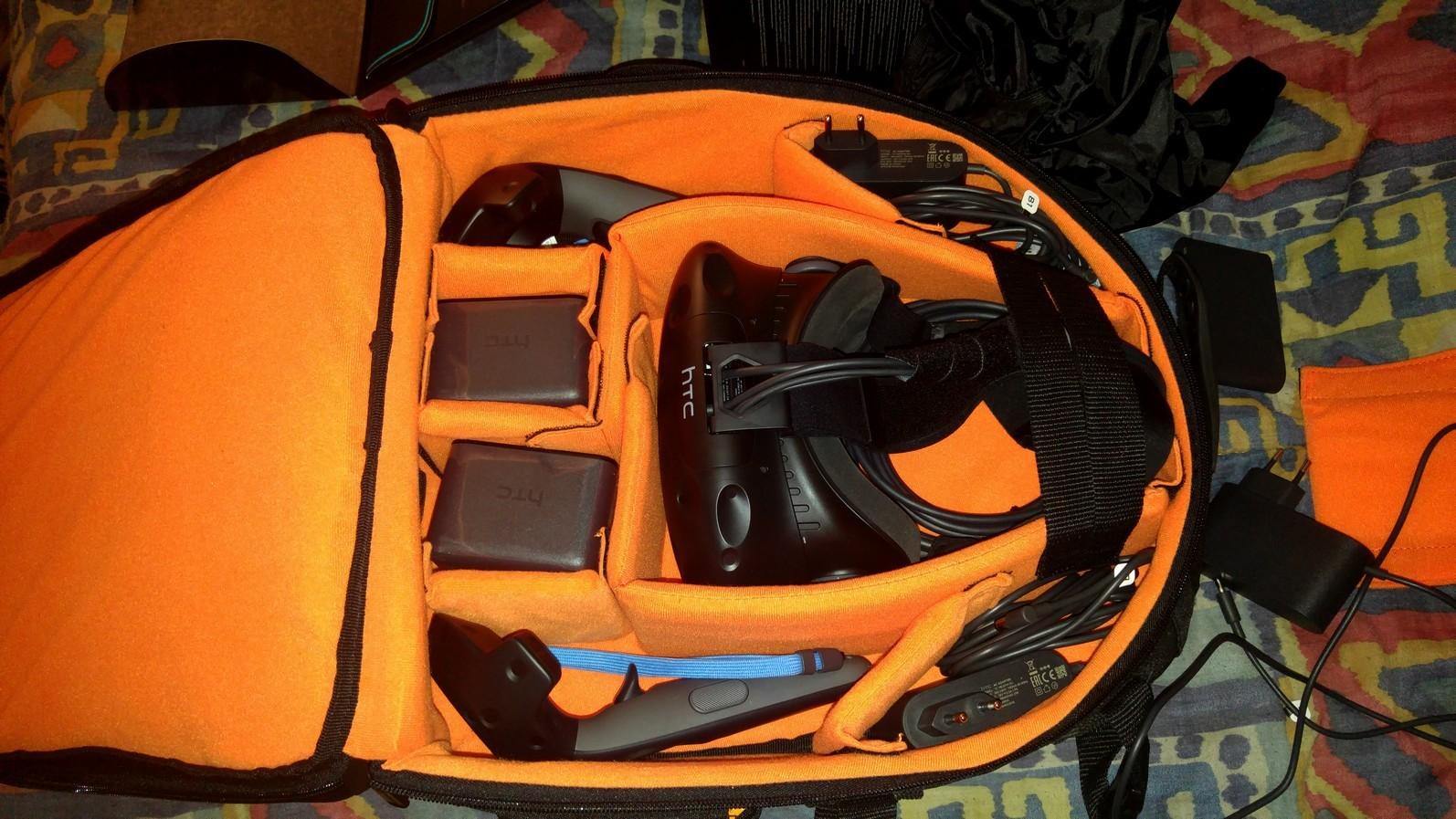 Accessoires FPS HTC Vive Sac_HTC_VIVE